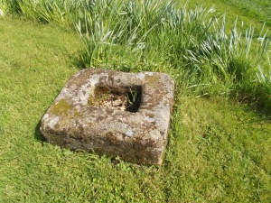 Medieval cross base