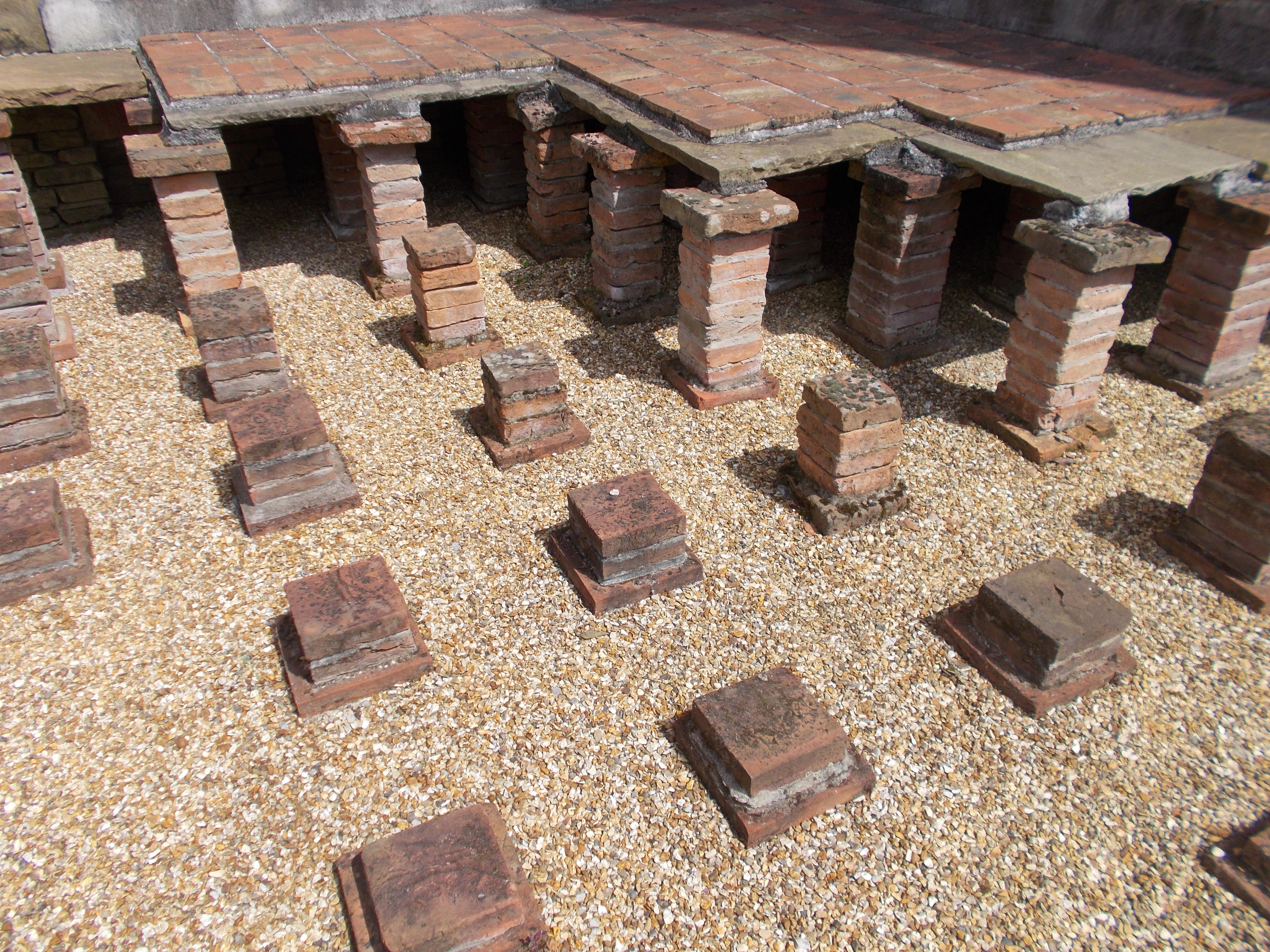 Wigan S Roman Bath House Hypocaust Lancashire Past