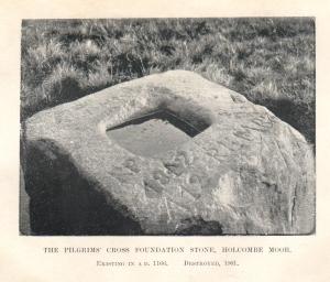Pilgrim's Cross foundation stone