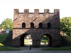Manchester Roman Fort North Gatehouse
