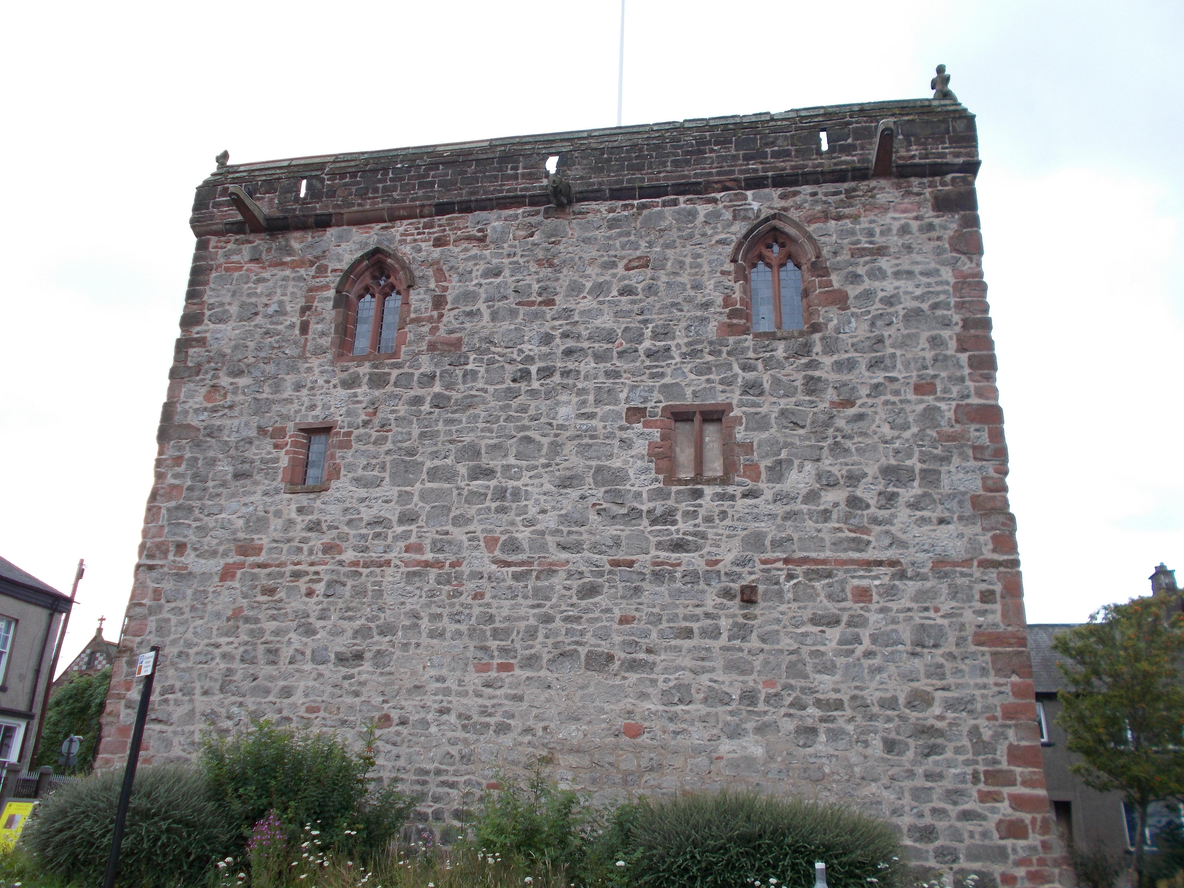 dalton castle, dalton in furness | lancashire past