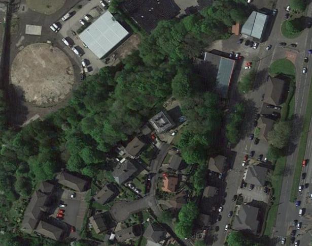rochdale castle aerial