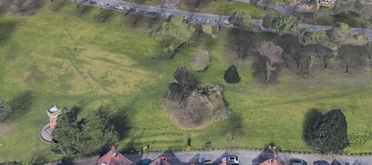 worsley green google earth